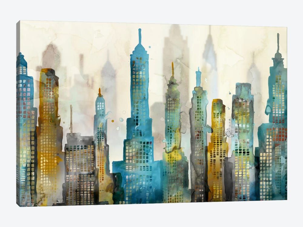City Sky 1-piece Canvas Print