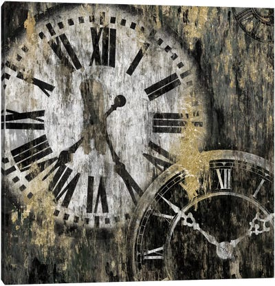 Clockwork I Canvas Art Print