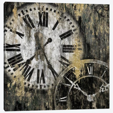 Clockwork I 3-Piece Canvas #ESK39} by Edward Selkirk Canvas Artwork