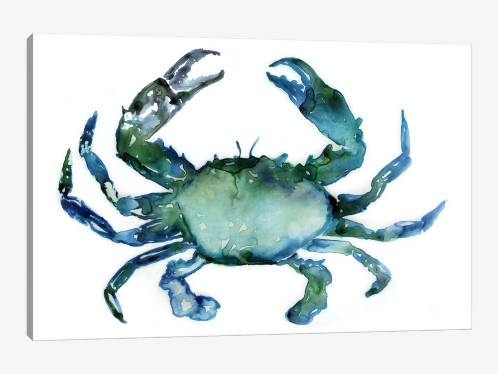 Crab by Edward Selkirk 1-piece Canvas Wall Art