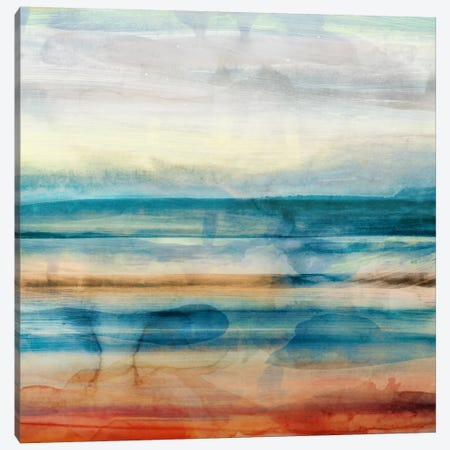 Crossing Canvas Print #ESK43} by Edward Selkirk Art Print