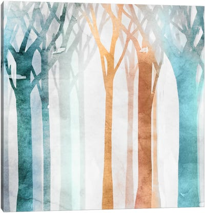 Dancing Trees I Canvas Art Print