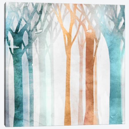 Dancing Trees I Canvas Print #ESK44} by Edward Selkirk Canvas Wall Art