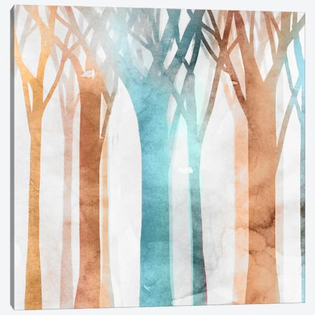 Dancing Trees II Canvas Print #ESK45} by Edward Selkirk Canvas Art