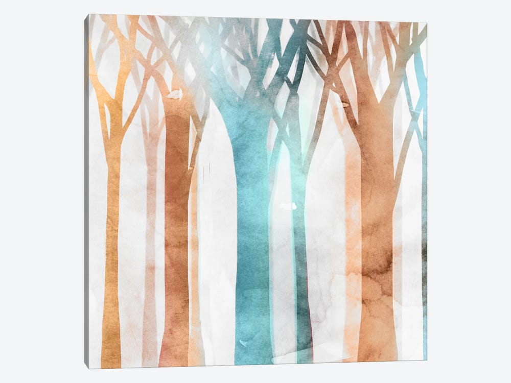 Dancing Trees II by Edward Selkirk 1-piece Canvas Art