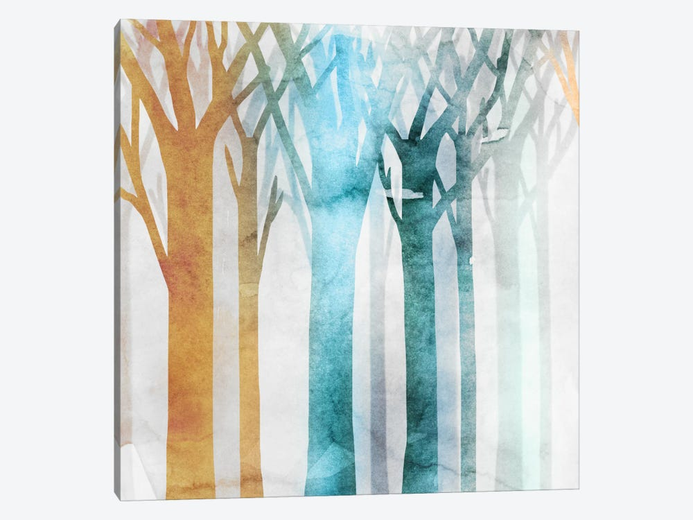 Dancing Trees III by Edward Selkirk 1-piece Canvas Art Print