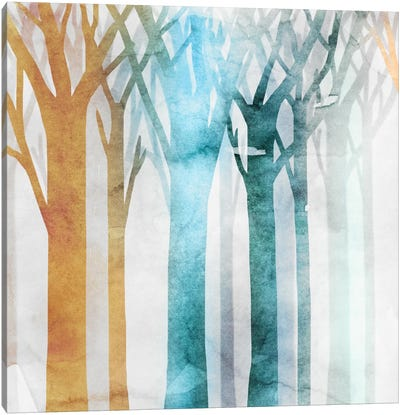 Dancing Trees III Canvas Art Print