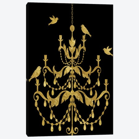 Deckled Gold I Canvas Print #ESK48} by Edward Selkirk Canvas Art Print