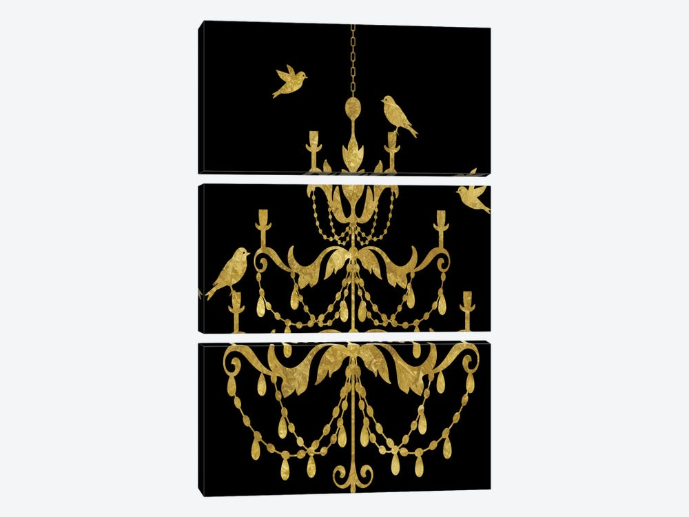 Deckled Gold I by Edward Selkirk 3-piece Art Print