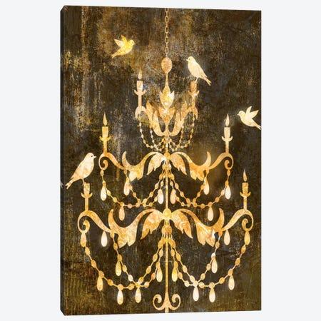 Deco Gold Distress I Canvas Print #ESK50} by Edward Selkirk Canvas Art