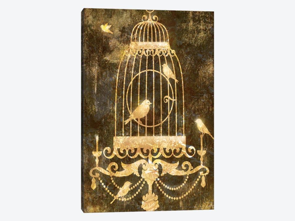 Deco Gold Distress II by Edward Selkirk 1-piece Canvas Print