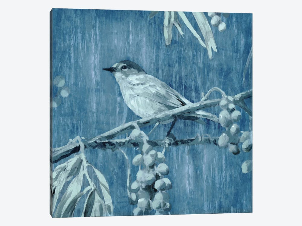 Denim Songbird I by Edward Selkirk 1-piece Canvas Art