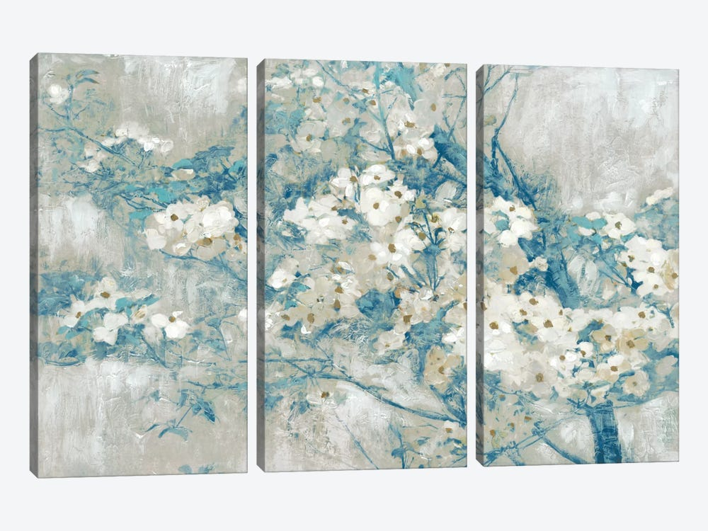 Dogwood Bloom I by Edward Selkirk 3-piece Art Print