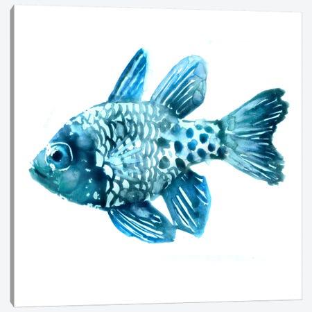 Fish II Canvas Print #ESK70} by Edward Selkirk Canvas Artwork