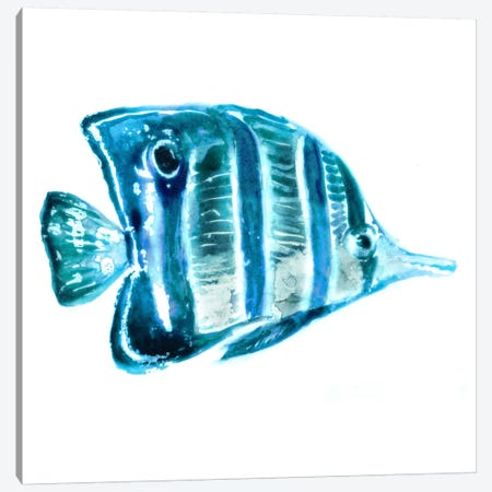 Fish III Canvas Print #ESK71} by Edward Selkirk Canvas Artwork