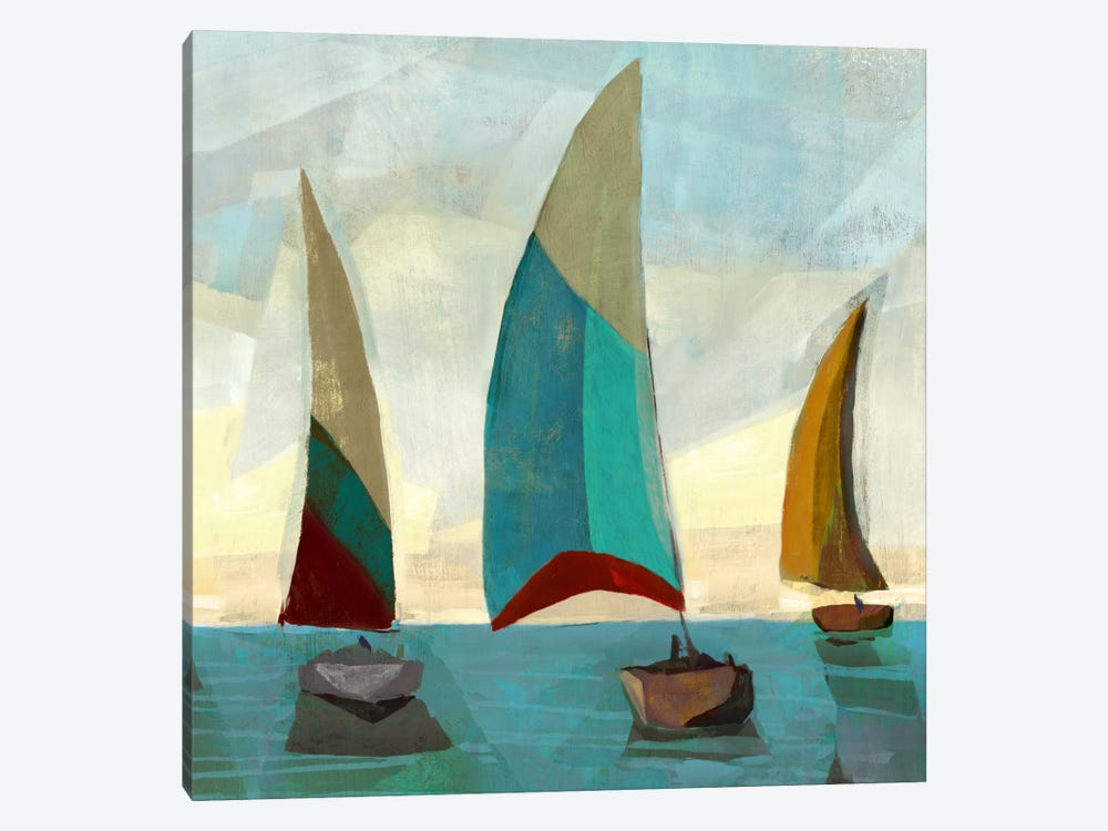 Gallivant Yellow II by Edward Selkirk 1-piece Canvas Print