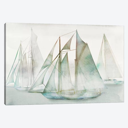 Glide I Canvas Print #ESK91} by Edward Selkirk Canvas Art