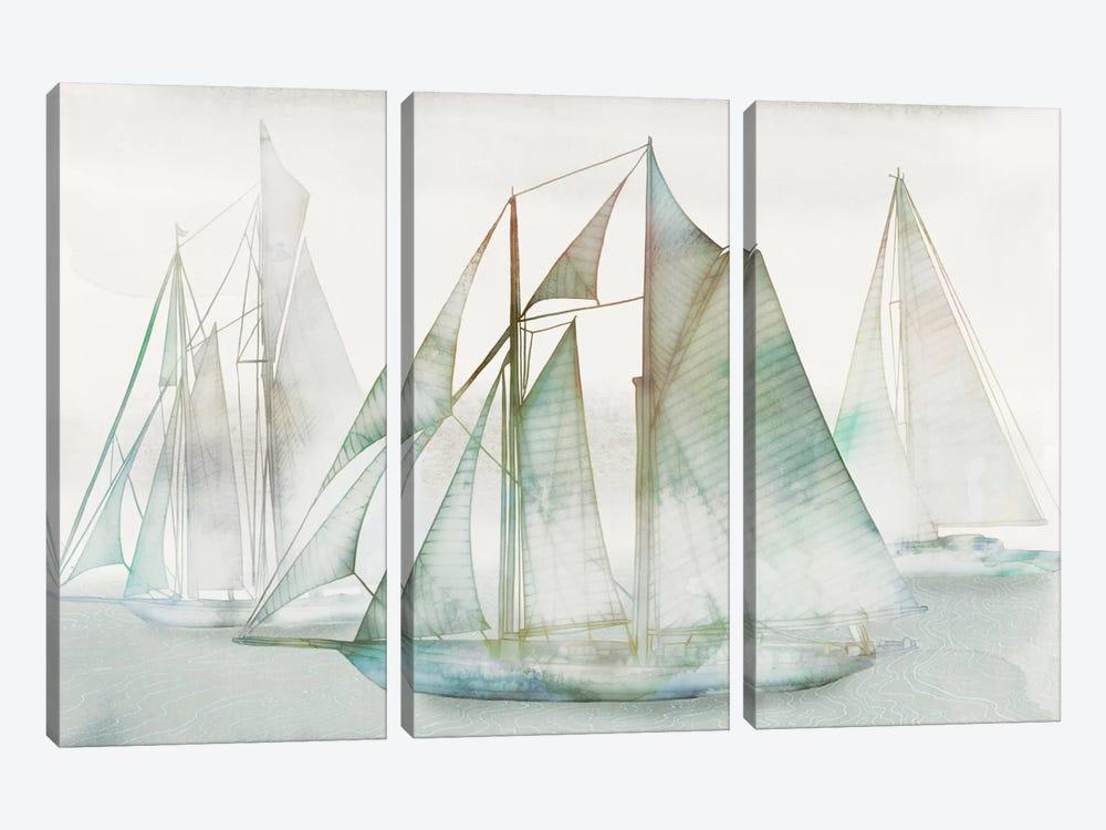 Glide I by Edward Selkirk 3-piece Canvas Art Print
