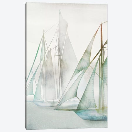 Glide II Canvas Print #ESK92} by Edward Selkirk Canvas Art