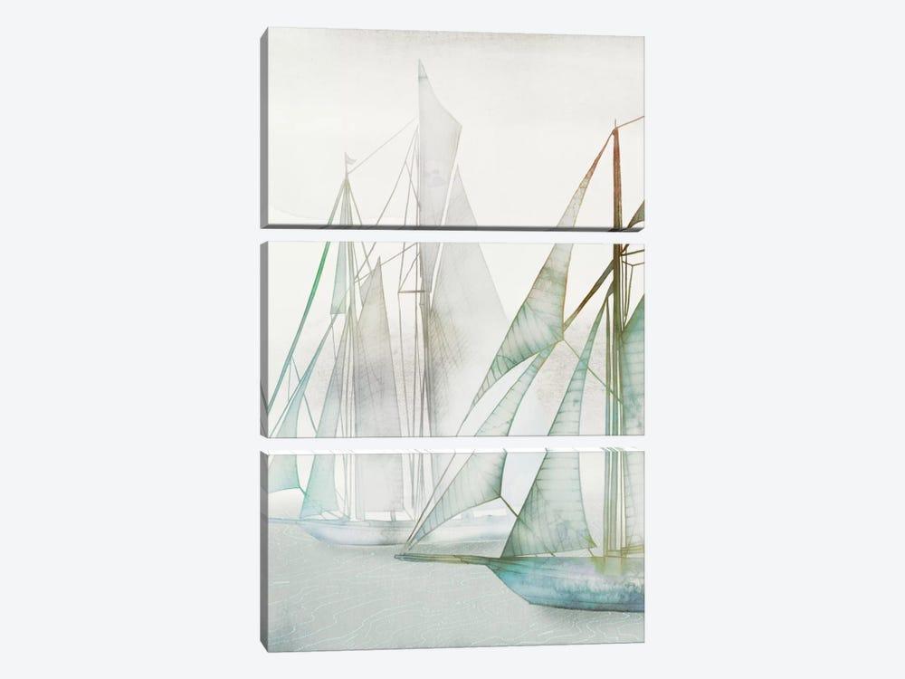 Glide II by Edward Selkirk 3-piece Canvas Wall Art