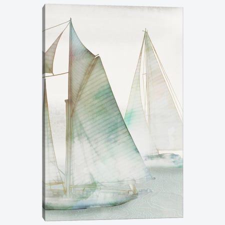 Glide III Canvas Print #ESK93} by Edward Selkirk Canvas Wall Art