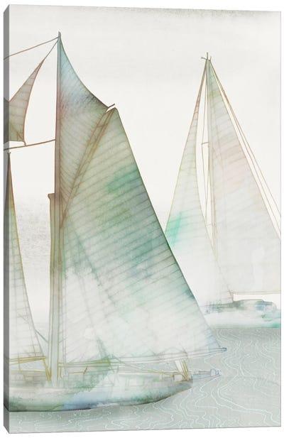 Glide III Canvas Art Print