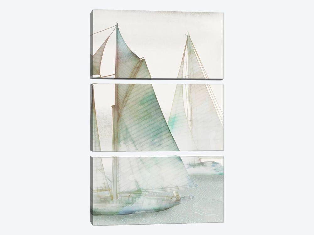 Glide III by Edward Selkirk 3-piece Canvas Art Print