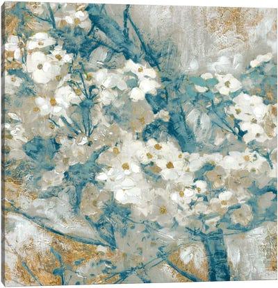 Golden Dogwood I Canvas Art Print