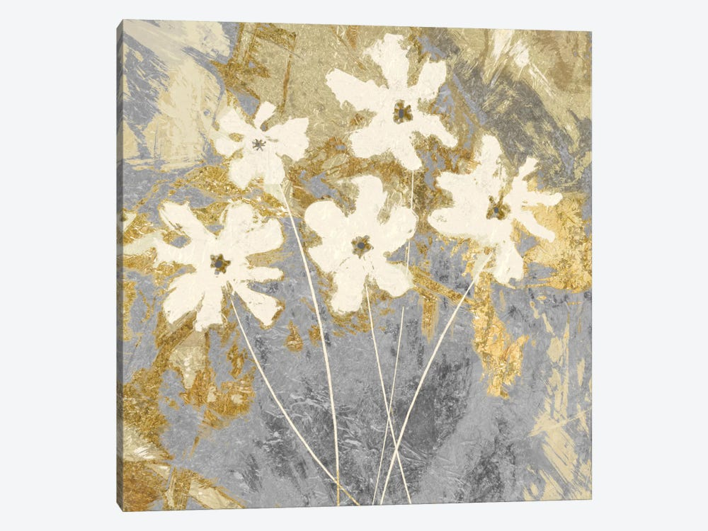 Golden I 1-piece Canvas Wall Art