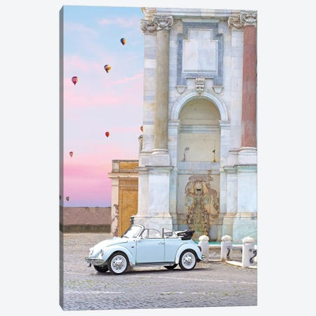 Buggy In Rome Canvas Print #ESM10} by Erin Summer Canvas Art