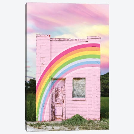 Abandoned Rainbow Canvas Print #ESM1} by Erin Summer Canvas Art Print