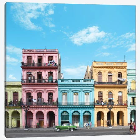 Havana Canvas Print #ESM25} by Erin Summer Canvas Wall Art