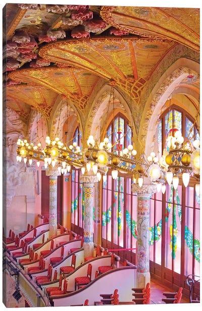 Palau De La Musica Barcelona Canvas Art Print