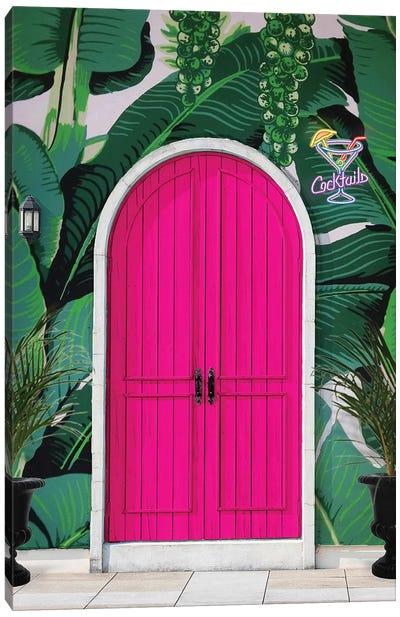 Paradise Lounge Canvas Art Print