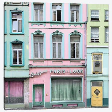 Paris Look 3-Piece Canvas #ESM35} by Erin Summer Canvas Print