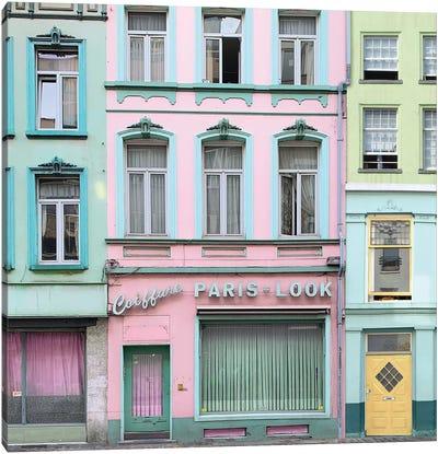 Paris Look Canvas Art Print