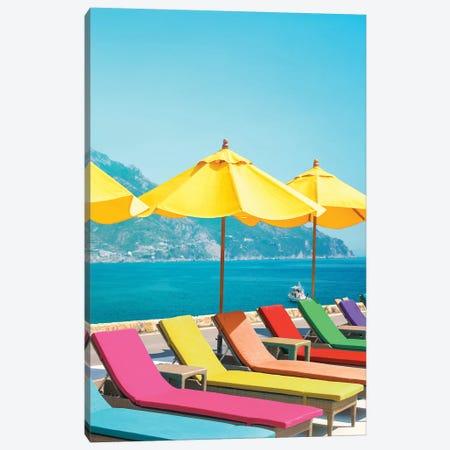 Amalfi Canvas Print #ESM3} by Erin Summer Art Print