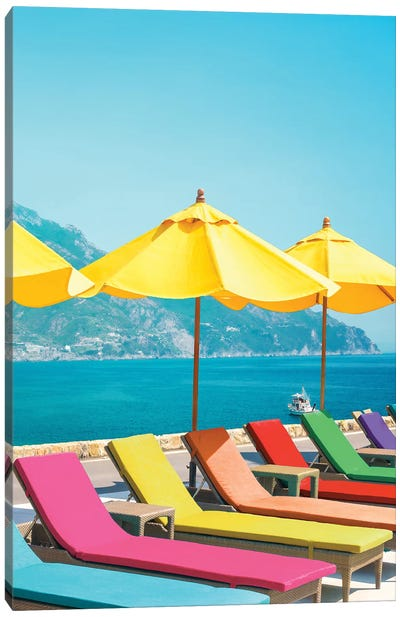 Amalfi Canvas Art Print