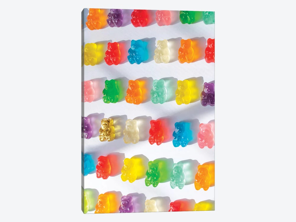 Stained Glass Gummies by Erin Summer 1-piece Canvas Print