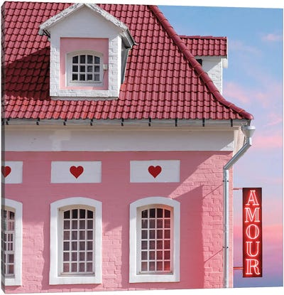 Amour Canvas Art Print