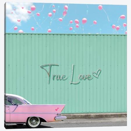 True Love Canvas Print #ESM55} by Erin Summer Canvas Art Print