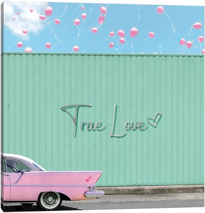 True Love Canvas Art Print