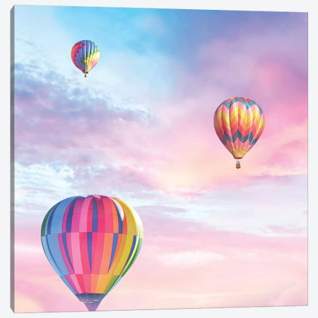 Up Up And Away Canvas Print #ESM56} by Erin Summer Art Print