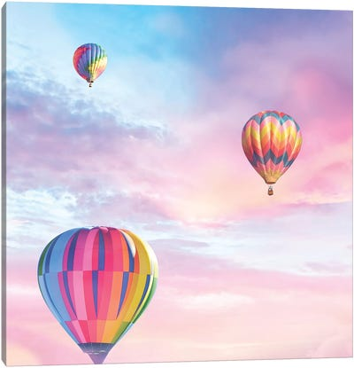 Up Up And Away Canvas Art Print
