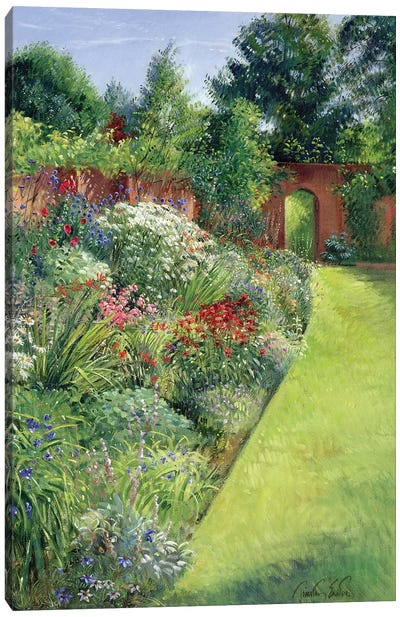 Path To The Secret Garden Canvas Art Print