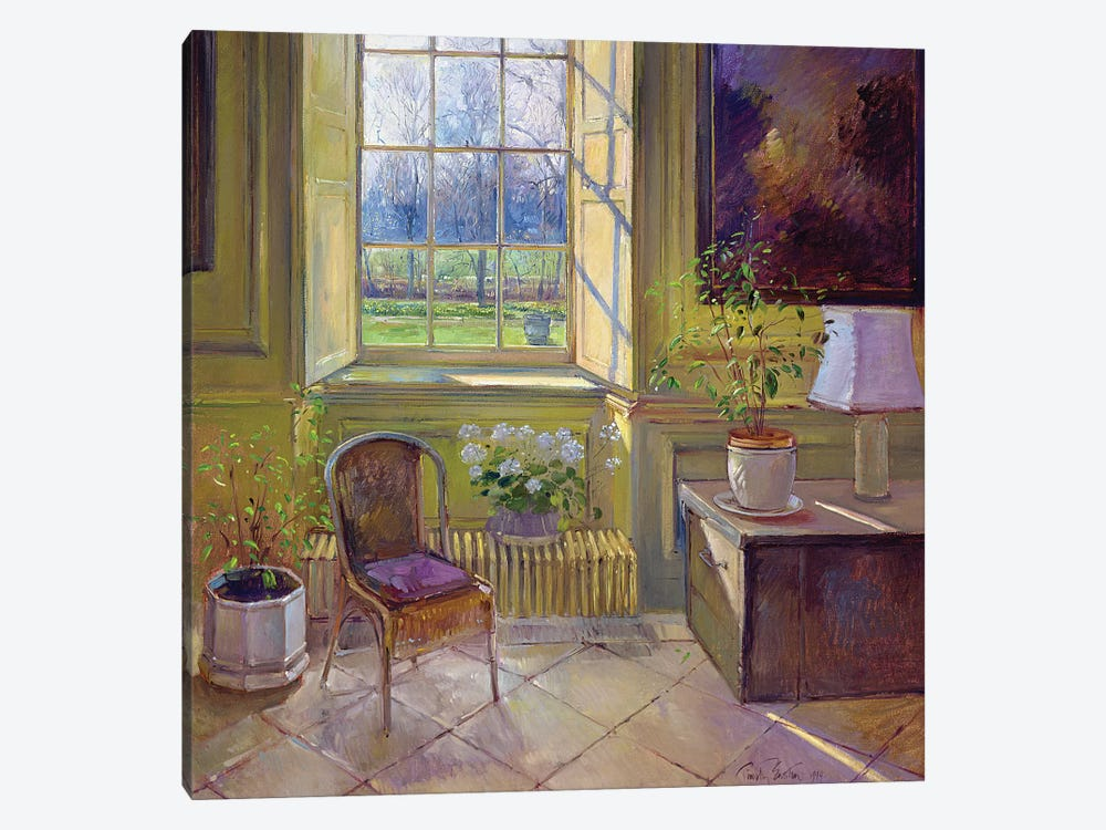 Spring Light And The Tangerine Trees by Timothy Easton 1-piece Canvas Artwork