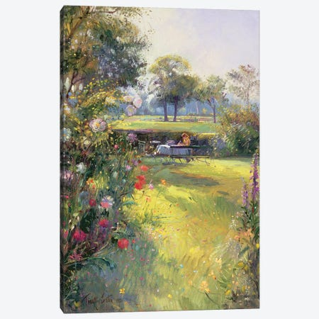 The Morning Letter Canvas Print #EST27} by Timothy Easton Art Print