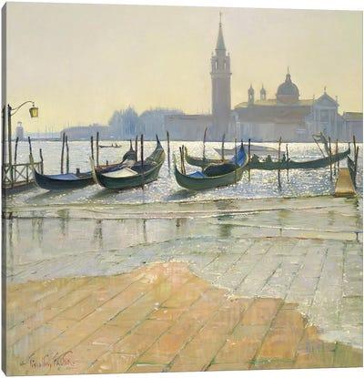 Venice At Dawn Canvas Art Print