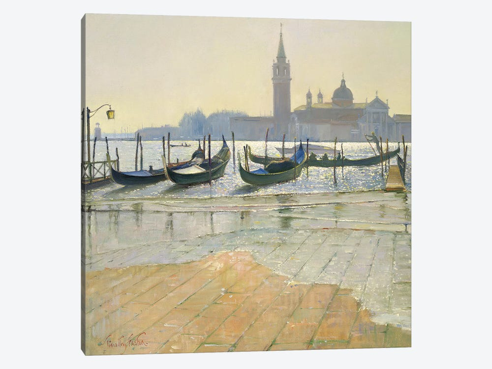 Venice At Dawn by Timothy Easton 1-piece Canvas Print