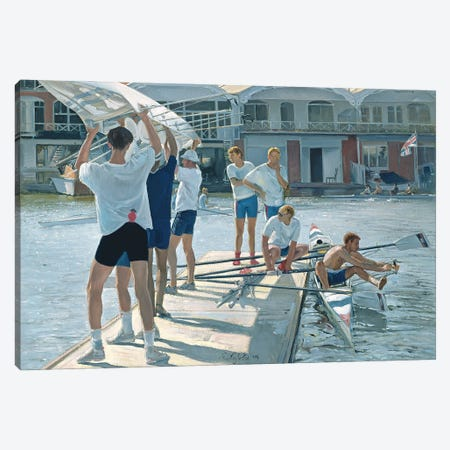 Swing Over, 1996 Canvas Print #EST47} by Timothy Easton Canvas Art Print